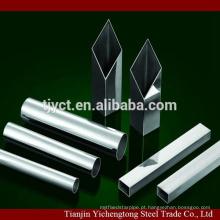 tubos de aço inoxidável soldados 201 304 redondos