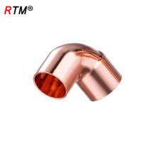 Un codo de conexión de tubería de cobre de 17 4 11 pex