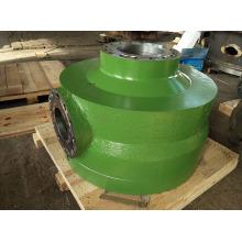 Chambre à air de pompe à membrane