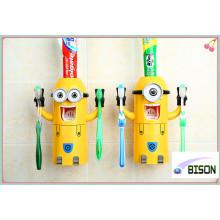 2016 Trendy Promotional Gadgets Mini Cartoon Auto Toothpaste Dispenser for Children