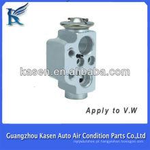 Diferentes tipos de válvulas de expansão para VW