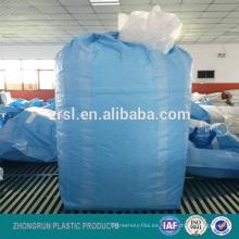 dos vueltas 4 vueltas de una tonelada de bolsas a granel personalizadas, mayorista personalizada 100% virgen pp tejida bolsa de cemento a granel