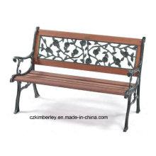 Vários tipos de WPC paisagem mesas e cadeiras