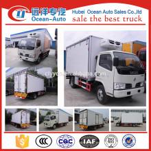 2015 Venta caliente 3 toneladas refrigerador DFAC4x2 para el carro