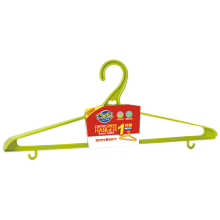 8402 Shunlu PP plastic fashion clothes hanger