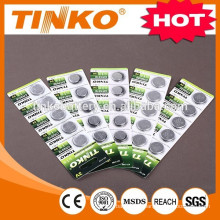 lithium button cell battery CR2032/2025/2016/2450