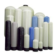 fácil instalación frp grp filtro de agua tanque de almacenamiento