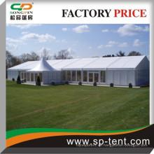 Großes Hochzeitsfest Zelt mit Auskleidungen und solide Wand für alle Wetterereignisse Festzelt