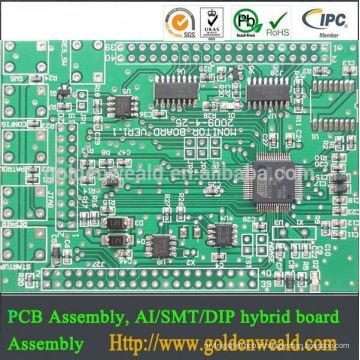 Fournisseur de service PCBA, service SMT et DIP, carte PCB électronique Assemblage PCBA