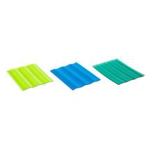 feuilles de toiture en plastique ondulé en polycarbonate