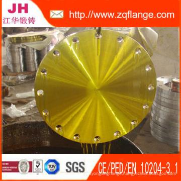 Ss41 Yellow Paint JIS 40k Bl Carbon Steel Flange