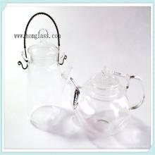 Teteras de vidrio de Pyrex de resistencia de calor