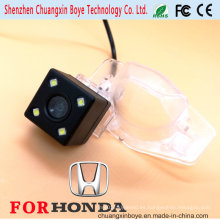 Con 4 luces LED para la visión nocturna Cámara trasera especial para Honda Fit / CRV / Odyssey