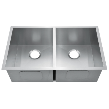 HM3219 Dapur Buatan Tangan Sink Stainless Steel Press