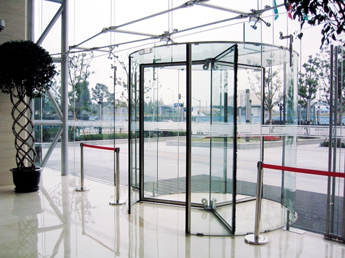 All Glass Revolving Doors for Commercial