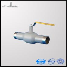 Válvula de esfera de aço carbono válvula de esfera DN40