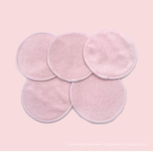 Microfiber Bamboon Durable Soft Washable Skin Face Cleaning Pad