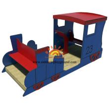 Kundenspezifisches modulares Kinderspielhaus im Freien