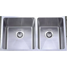 Double Bowl Stainless Steel Kitchen Sink (KHD3219)