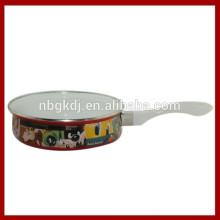 personalizado esmalte panela wholsale & esmalte frigideira