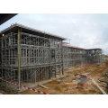 Almacén de estructura de acero industrial prefabricado de bajo costo