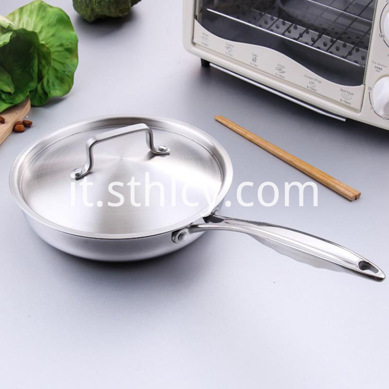 Stainless Steel Pan Bacon