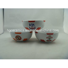 Taças de futebol, Taça de futebol de cerâmica, Presente da equipa de futebol