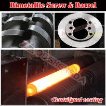 chrome molybdenum alloy gas cylinder extrusion screw