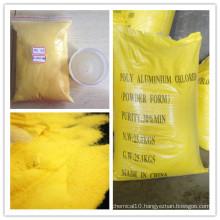 Polyaluminium Chloride 30% Yellow Powder PAC