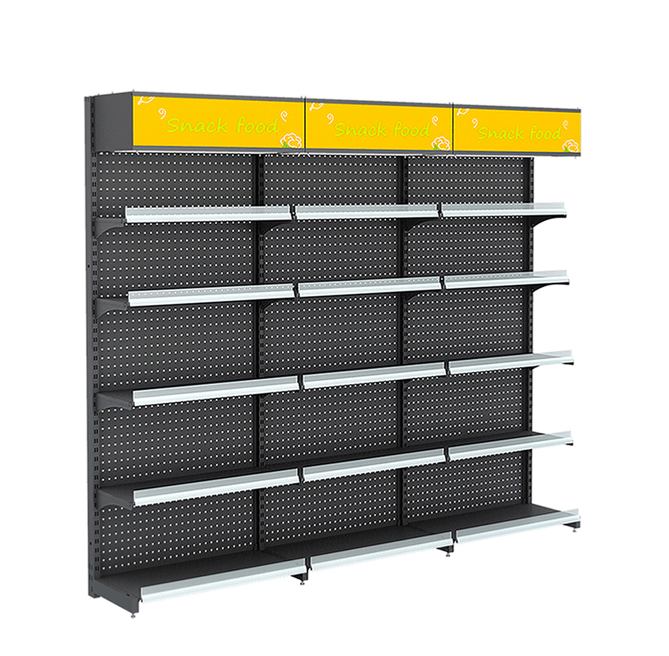Gondola Metal Shelves For Sale