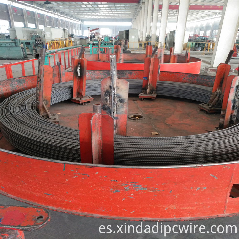 PC wire 4.8mm export to Bangladesh