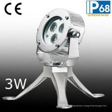 Professinal Производство нержавеющей стали СИД подводный свет пятна (ДЖП-95131)