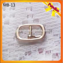 SB13 hebilla de zapato de zapatos personalizados de metal de forma de gancho para la señora zapatos