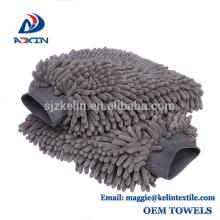100% Waterproof Car Wash Glove Microfiber Chenille Cleaning Plush Wash Mitt