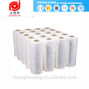 pe pvc cast stretch ceiling cling shrink film laminating slitting rewinding wrapping packaging packing machine wrapper price