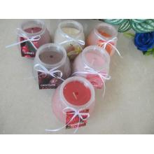 Long Burning Scented Glass Candles Gift  Set