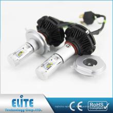 O CE RoHS certificado da alta intensidade 50W X3 H4 fanless conduziu o farol