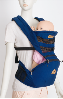 Blue color fashion cheap baby carrier