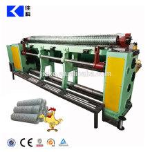 Machine de fabrication de grillage hexagonale droite et inverse