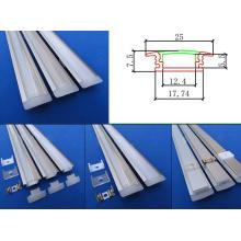 Série LED Anodizado Pendurado Extrusão Perfil de alumínio