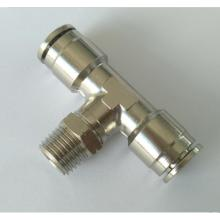 "Luft-Fluid 3/8 ""Rohr x 1/4"" Messing Push-to-Connect Fittings"