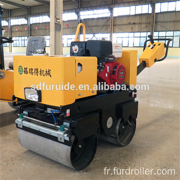 Small Walk Behind Double Drum Road Roller Asphalt Compactor