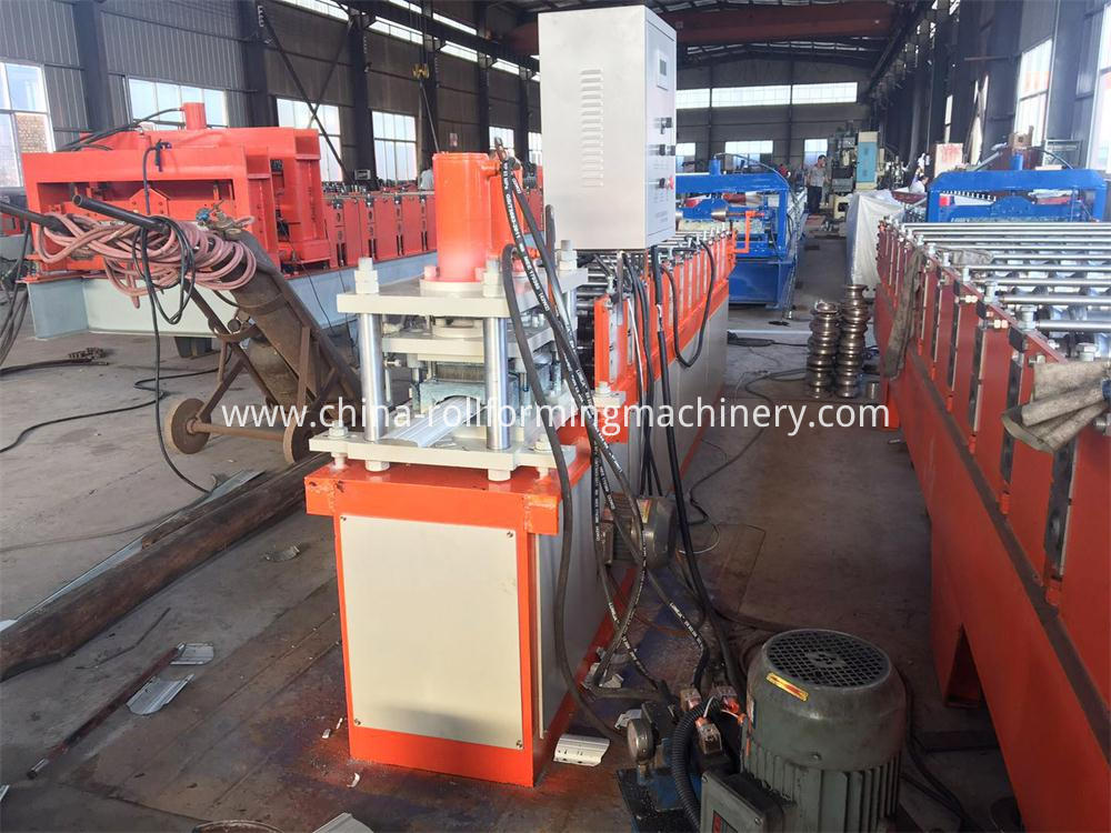steel fence roll forming machine