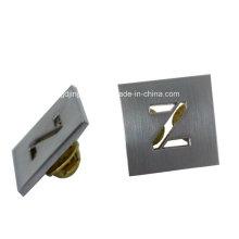 Distintivo de metal de la letra del recorte Z de la aleación del cinc de encargo