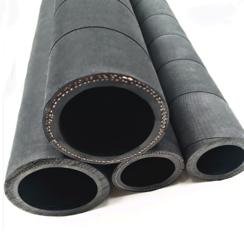 Wire Braided 2-layers Rubber Pipe