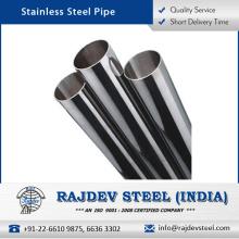 Tubo sin costuras de acero inoxidable de precisión para la industria de tuberías