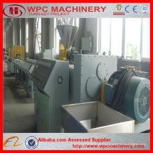 Extrusora de porta WPC / perfil de PVC para linha de produção de janela / máquina de fazer portas de PVC