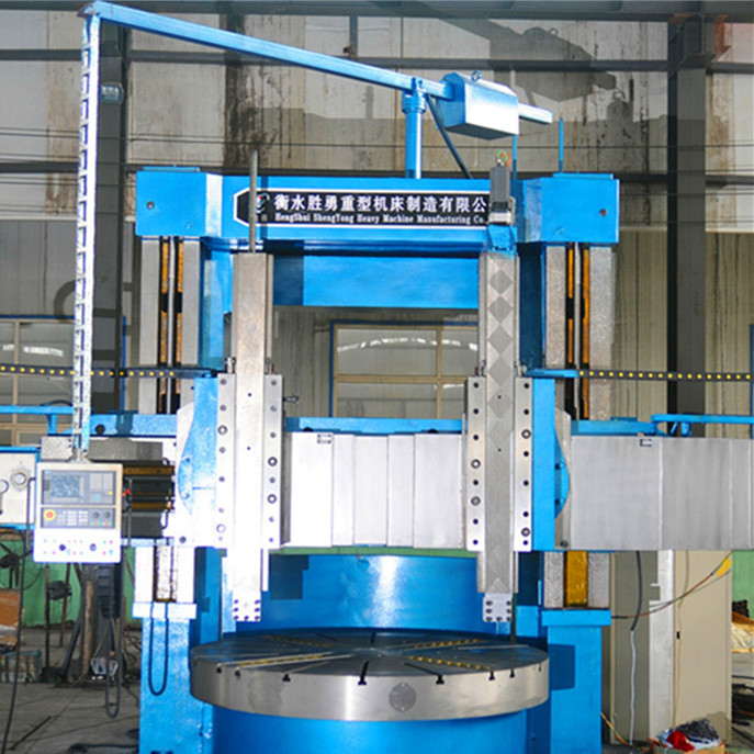 Conventional vertical lathes