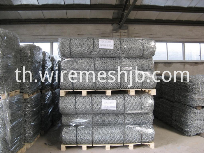 Hot-dip Galvanized Gabion Mattress
