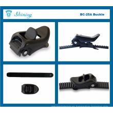BC25A-BL15A Micro Adjustable Motocicleta Ropa Buckle Tie